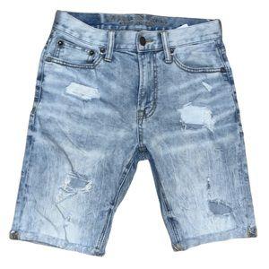 American Eagle Men's Core Flex Distressed Shorts